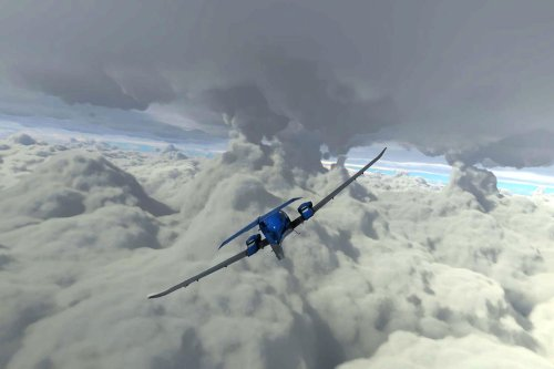 Would-be stormchasers in 'Microsoft Flight Simulator' observed Hurricane Laura in real-time