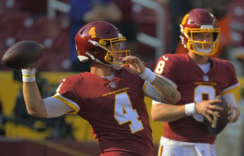 Washington's QB carousel has become a constant, and Taylor Heinicke is ready for his turn