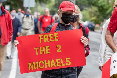 China frees Canada's 'two Michaels', jailed for more than 1,000 days, after Huawei's Meng cuts deal with U.S.
