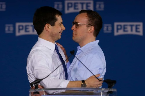 Chasten Buttigieg has been a homeless community college student and a Starbucks barista. Now, he could be 'first gentleman.'
