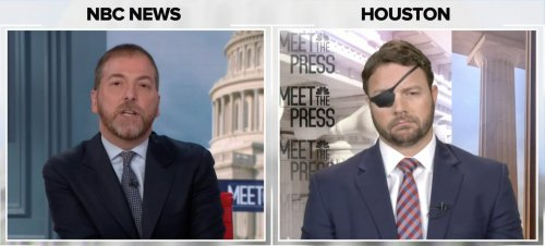 Chuck Todd clashes with Dan Crenshaw over GOP fraud claims: 'Why should anybody believe a word you say?'