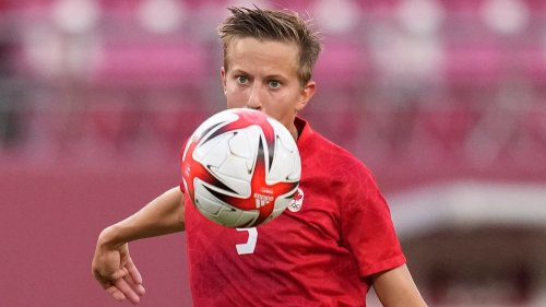 Canadian soccer player makes history as first openly trans athlete to medal in the Olympics