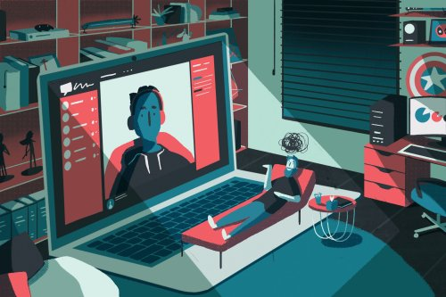 During the pandemic, viewers have turned to content creators for mental health support