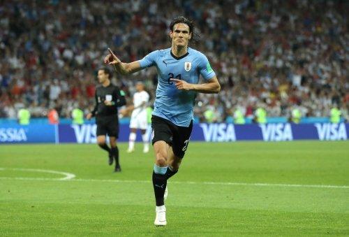 Cavani, Uruguay top Ronaldo, Portugal, 2-1, to earn trip to World Cup quarterfinals