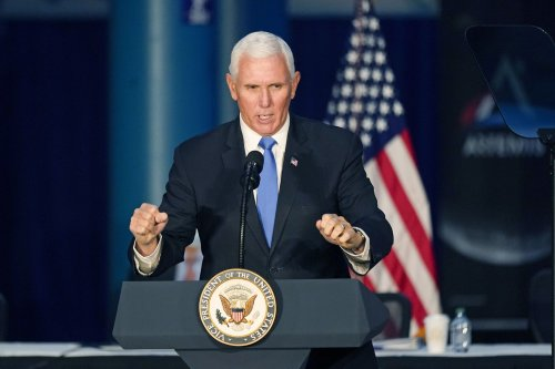 As Pence names which astronauts will go to the moon, some see a political ploy