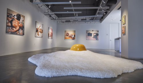 In the galleries: A sizzling exhibit crackles with creativity