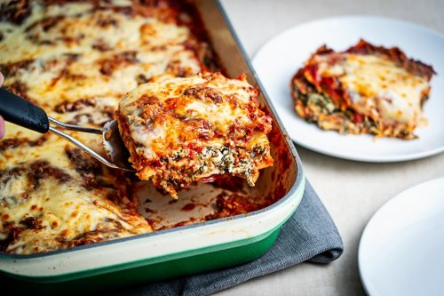 Sausage, Spinach and Goat Cheese Lasagna - The Washington Post