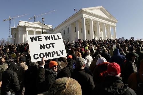 Virginia officials on edge as pro-gun caravans prepare to gather in Richmond on Monday