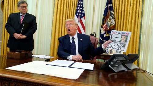 Trump signs order that could punish social media companies for how they police content, drawing criticism and doubts of legality