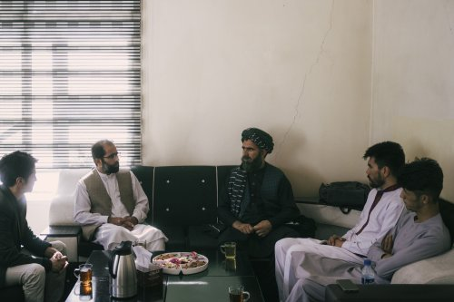 As an Afghan newspaper struggles to survive, a brutal beating — and a Taliban apology