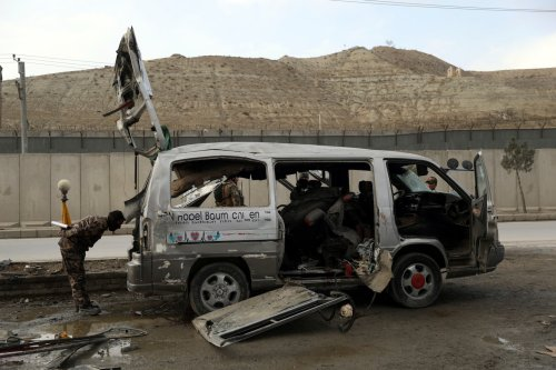 U.S. proposes interim power-sharing government with Taliban in Afghanistan