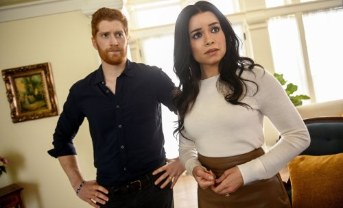 Lifetime's new 'Harry & Meghan' movie has a lot to say about the royal family feud — and vicious tabloid media