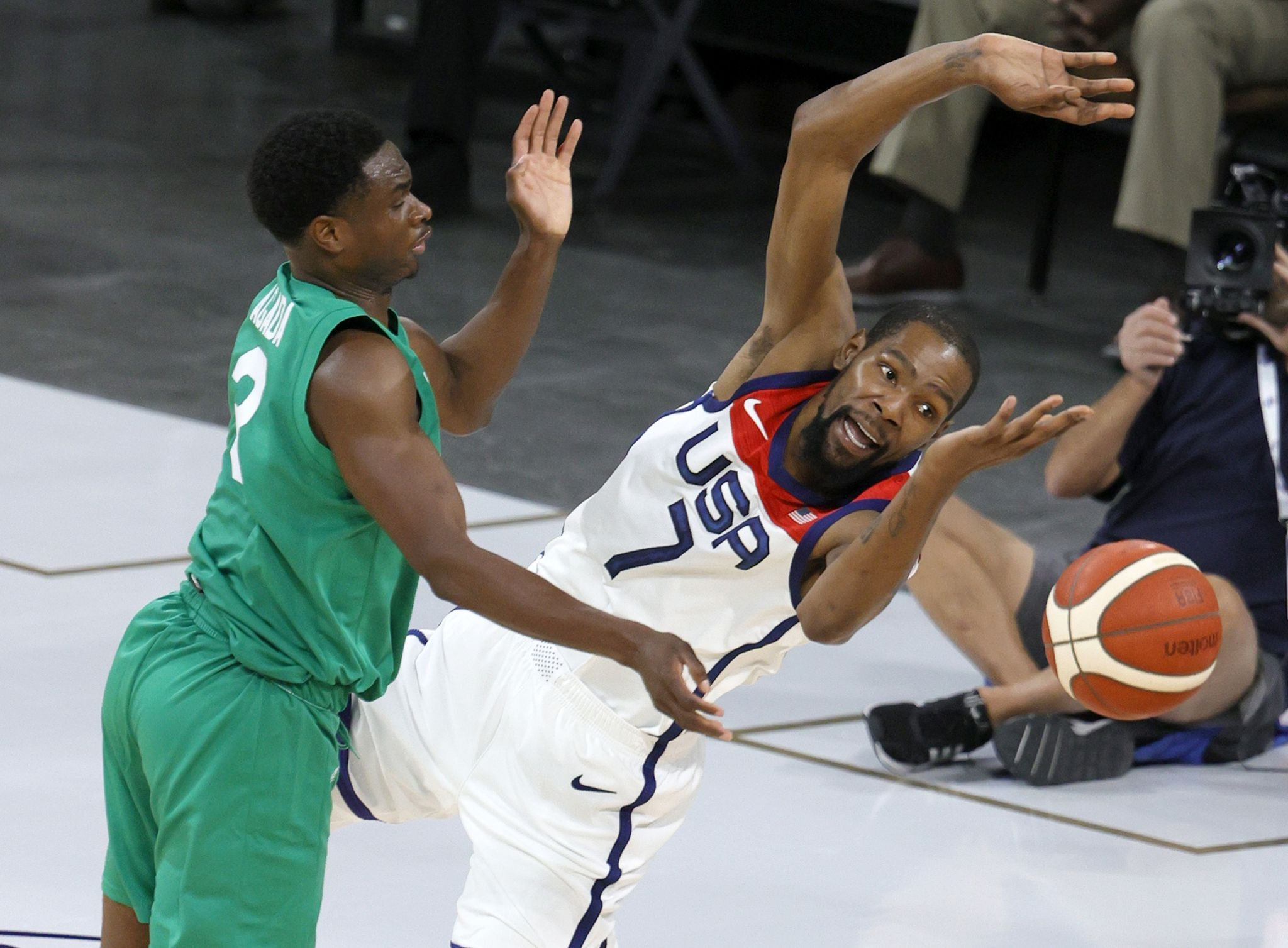 Team USA suffers shocking loss to Nigeria in exhibition opener