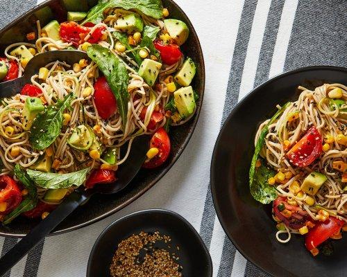 Summer Noodle Salad With Ginger-Garlic Dressing - The Washington Post