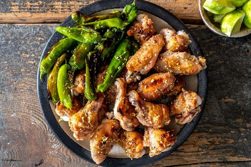 The secret to super-crispy chicken wings? Brine them and roast them — no frying needed.
