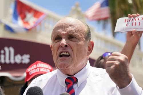 Another not-proud moment for Rudy Giuliani