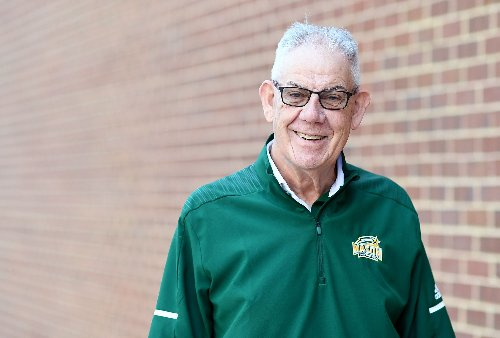 After decades together, Jay Marsh is saying goodbye, and George Mason is saying thanks
