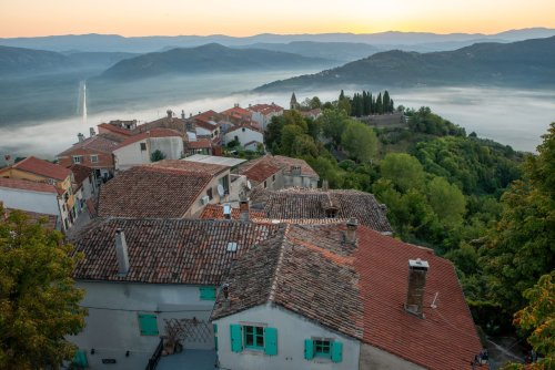 On Croatia's Istria peninsula, a variety of historic influences meld into a beautiful present