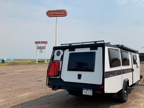 A latecomer to the #vanlife party takes a 4,000-mile road trip in a pop-up camper