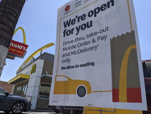 How McDonald's and other restaurant chains are changing their menus as the country reopens