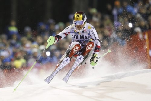Top slalom skier nearly taken out by drone during World Cup race