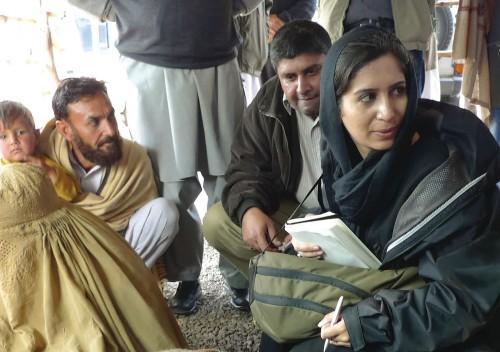 When terror strikes the family of a terrorism reporter