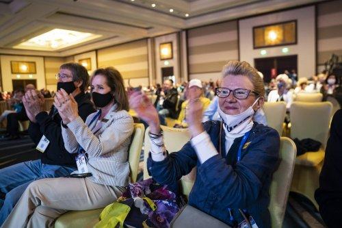 At conservative conference, Trump's election falsehoods flourish