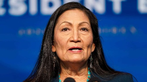 In Indian Country, tears, hope and defiance over nomination of first Native Cabinet secretary