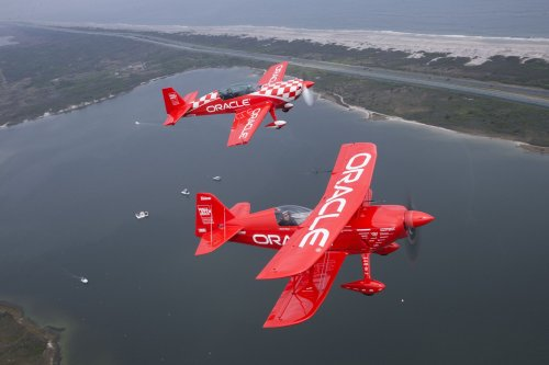 Smithsonian Air and Space Museum lands famed aerobatic plane