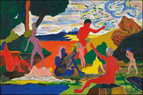 Bob Thompson died young, but his colorful jazz- and Old Master-inspired paintings speak to the ages