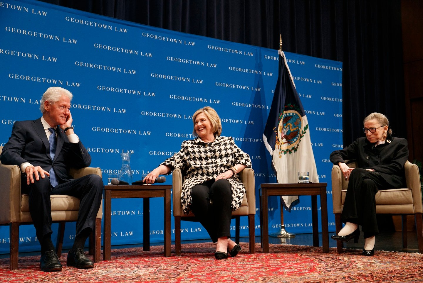 Ruth Bader Ginsburg, Bill and Hillary Clinton reminisce about her nomination