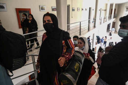 Female Afghan soccer players flee to Pakistan, joining exodus of women and girls