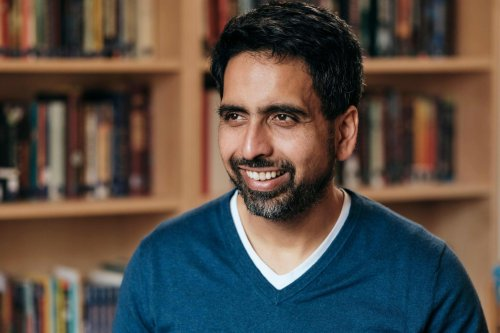 Khan Academy's Sal Khan shares advice for online learning: Do less, and turn off the camera
