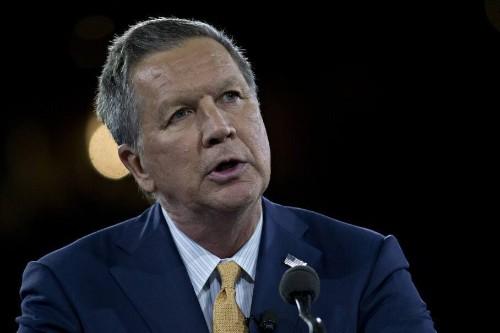 Kasich derides Trump and Cruz over counterterrorism approach