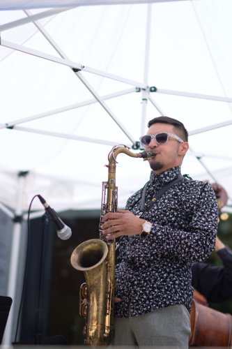 Saxophonist Elijah Jamal Balbed would spend his dream day exploring D.C.'s music scene