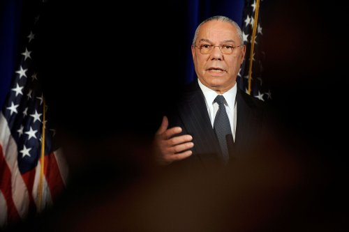 Get behind Fort Colin Powell