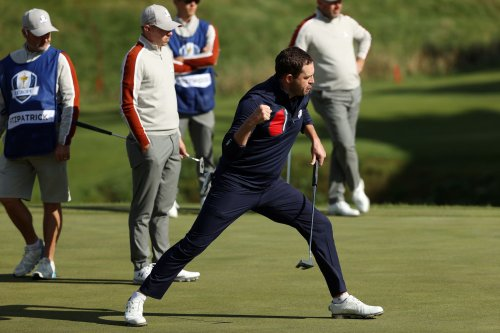 U.S. Ryder Cup rout continues with more domination in Saturday morning matches
