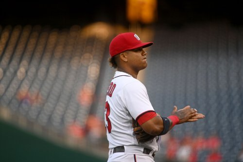 Starlin Castro goes on restricted list to deal with 'family matters'; Nats promote Luis García