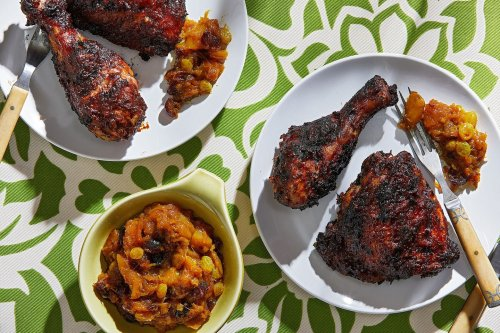 A vibrant marinade makes this jerk chicken stand out from the grilling crowd
