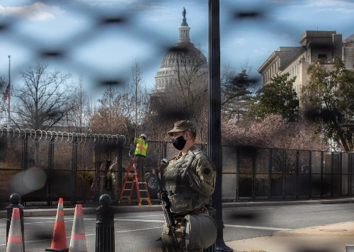 With no 'armed march' by extremists, D.C. residents navigate a fortress and fear