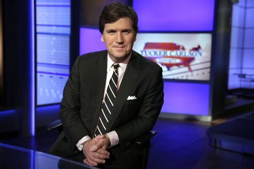 In the sputtering outrage toward Tucker Carlson, he heard only ka-ching