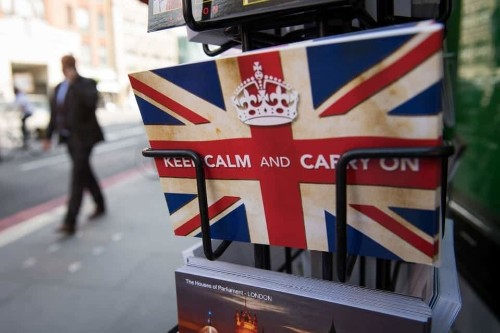 Coping with terrorism in the home of 'Keep Calm and Carry On'
