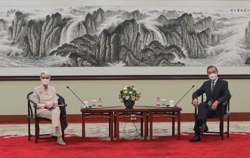 China may be having a harder time with Biden than with Trump