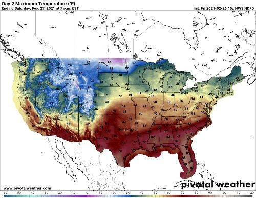 'Phenomenal' temperature swing brings taste of spring to Central U.S.