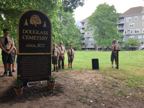 A Virginia teen saw a historic black cemetery in disrepair. He recruited his fellow Boy Scouts to restore it.