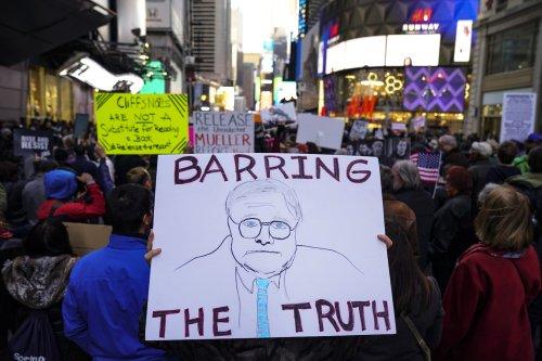 Opinion: William Barr's stunt has backfired
