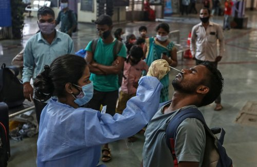 New global coronavirus cases nearly double in two months
