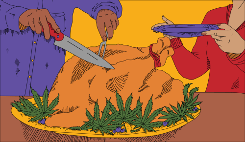 How legal weed turned Thanksgiving into a high holiday