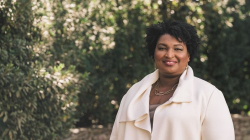 And in her spare time, Stacey Abrams wrote a thriller
