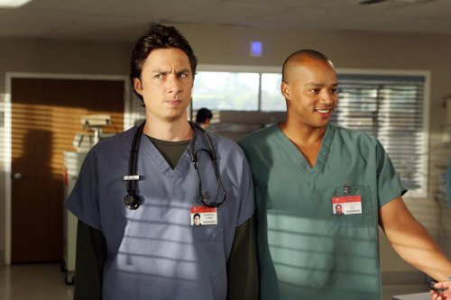 Nostalgia TV re-watch podcasts are thriving. Zach Braff and Donald Faison's show about 'Scrubs' exemplifies why.